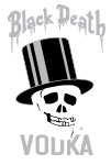 Black Death Vodka Logo